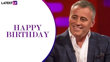 Matt LeBlanc Birthday Special: Iconic Quotes of Joey Tribbiani That Make Us Want to Say 'How You Doin' to the Friends Star