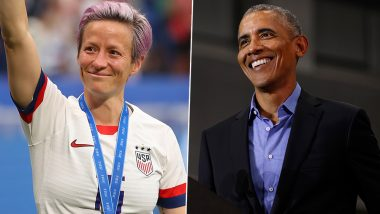 USA Wins FIFA Women's World Cup 2019: Barack Obama Says 'Love This Team', Donald Trump and Wife Melania Congratulate Champions Days after President Criticised Megan Rapinoe