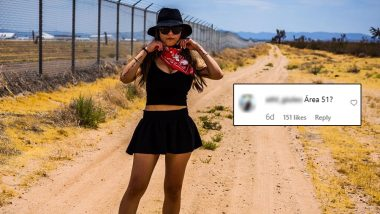 Mia Khalifa Has Reached Area 51? Instagram Post of The Former Porn Star Leaves XXX Fans Wondering