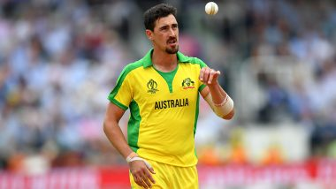 Most Wickets in Single World Cup: Mitchell Starc Needs 1 Wicket to Break Glenn McGrath's Record During AUS vs ENG CWC 2019 Semi-Final Match
