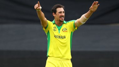 Mitchell Starc Equals Glenn McGrath's Record of Bowler With Most Wickets in a Single Edition of World Cup