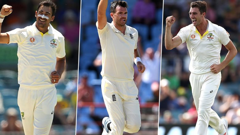 Ashes 2019: James Anderson, Mitchell Starc and Other Bowlers to Watch Out For During England vs Australia Test Series