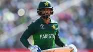 Mohammad Hafeez Asked to Isolate Himself for Five Days After Breaching Bio-Secure Bubble