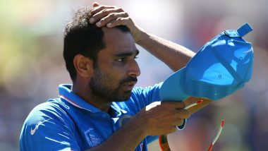 Mohammed Shami Evokes Another Controversy As Woman Claims the Cricketer Sent her a Message Ahead of India vs New Zealand CWC 2019 Semi-Final