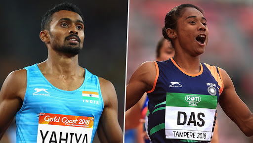 Hima Das Wins Fourth Gold in 15 Days, Muhammad Anas Also Claims Top Spot