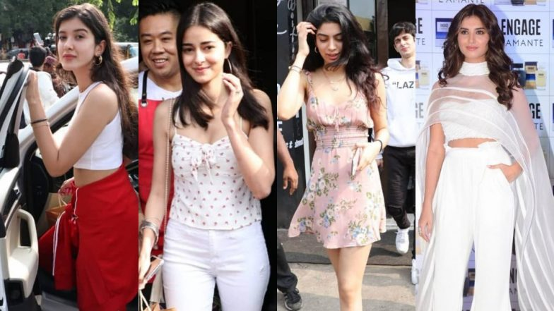 Best And Worst Dressed Over The Weekend: Ananya Pandey, Tara Sutaria, Shanaya Kapoor  - The Young Brigade Sure Got Their Style Game On Point!