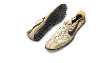 Nike's Rare 'Moon Shoe' Sell For Record $437,500 at Auction