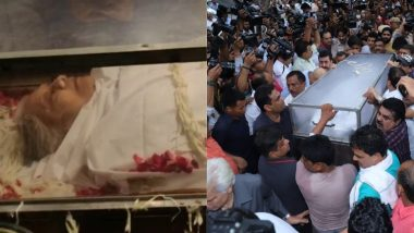 Sheila Dikshit Cremated at Nigambodh Ghat With Full State Honours, Nation Bids Tearful Adieu