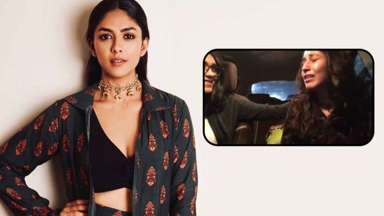Mrunal Thakur's Sister Gets Teary Eyed on Being Told about Sis Bagging Super 30 Opposite Hrithik Roshan (Watch Video)