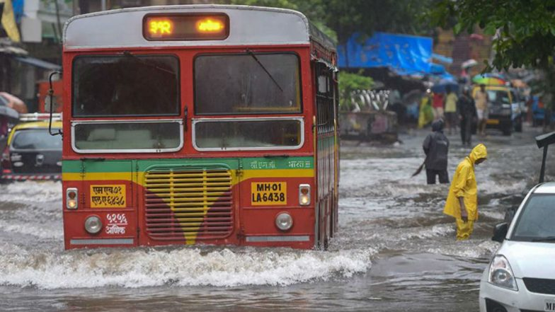 Mumbai Rains: Heavy Rainfall to Continue on Monday, IMD Issues Alert for Raigad, Thane, Palghar