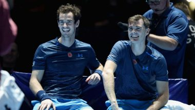 Washington Open 2019: Murray Bothers Off to a Winning Start in Men's Doubles Tennis Event