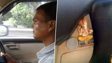 Religious Harmony at its Best! This FB Post on a Muslim Man Keeping a Lord Ganesha Idol In Car is Thought-Provoking!