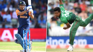 India vs Bangladesh Dream11 Team Predictions: Best Picks for All-Rounders, Batsmen, Bowlers & Wicket-Keepers for IND vs BAN in ICC Cricket World Cup 2019 Match 40