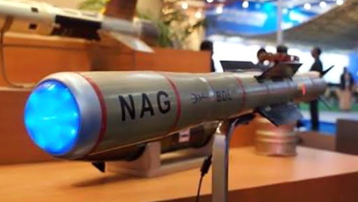 India Successfully Test Fires 3 Nag Anti-Tank Guided Missiles From Pokhran Range
