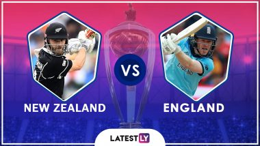 England Win Cricket World Cup 2019 | New Zealand vs England Highlights of ICC CWC19 Final Match: Hosts Win on Boundary Count
