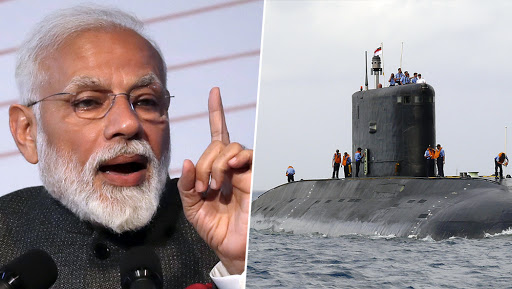 Modi Government Invites Global Warship Makers To Build Six Submarines in India For $6.6 Billion To Boost Shipyard Capability