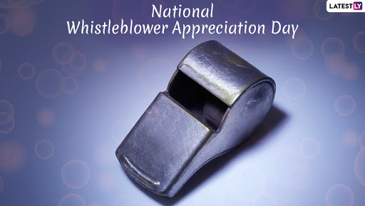 National Whistleblower Appreciation Day 2019: Remembering Silent Bravehearts Who Changed Course of History