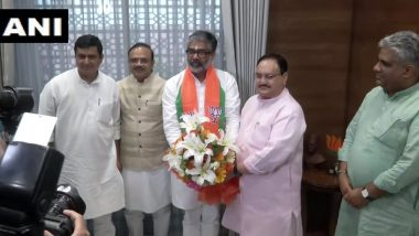 Neeraj Shekhar, Son of Former PM Chandra Shekhar, Joins BJP, Meets Working President JP Nadda