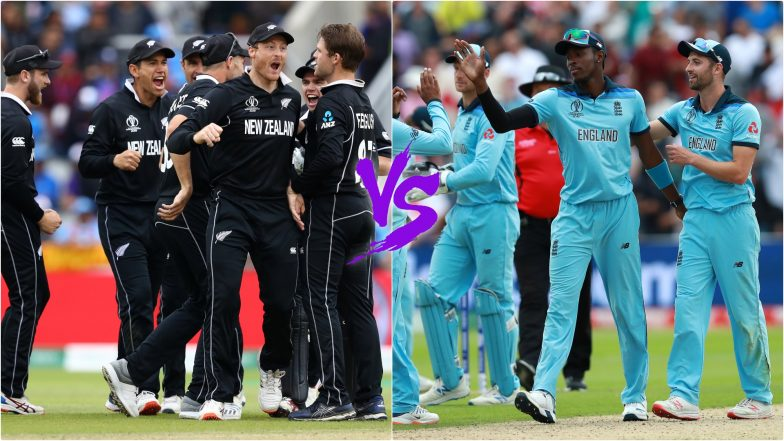 NZ vs ENG Head-to-Head Record: Ahead of ICC CWC 2019 Final Clash, Here Are Match Results of Last 5 New Zealand vs England Encounters!