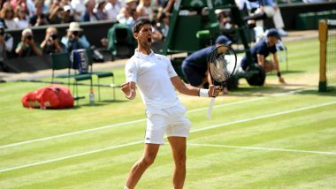 Novak Djokovic vs Cristian Garin, Wimbledon 2021 Live Streaming Online: How to Watch Free Live Telecast of Men's Singles Round of 16 Tennis Match in India?