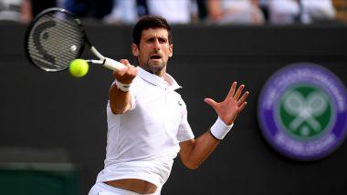 Novak Djokovic vs David Goffin, Wimbledon 2019 Live Streaming & Match Time in IST: Get Telecast & Free Online Stream Details of Men's Singles Quarter-Final Tennis Match in India