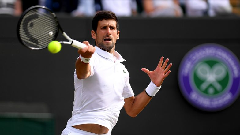 Novak Djokovic Applauds Roberto Bautista Agut's Ground Shots Thrice During Wimbledon 2019 Semi-Finals, Calls Him 'Bravo' (Watch Video)
