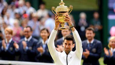Novak Djokovic Wins Wimbledon 2019, Beats Roger Federer in Thrilling Longest Men's Singles Final to Lift 5th Wimbledon Trophy