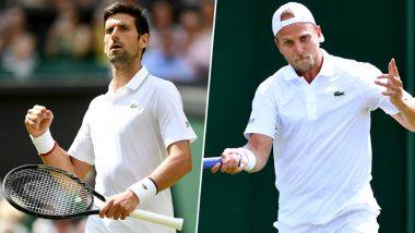 Novak Djokovic vs Denis Kudla, Wimbledon 2019 Live Streaming & Match Time in IST: Get Telecast & Free Online Stream Details of Second Round Tennis Match in India