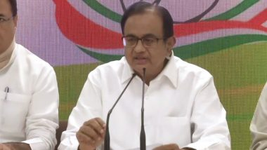 P Chidambaram Arrested in INX Media Case: List of 20 Questions Posed to Him by CBI