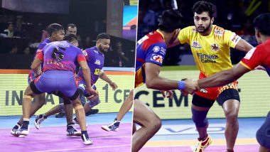 PKL 2019 Today's Kabaddi Matches: August 1 Schedule, Start Time, Live Streaming, Scores and Team Details in VIVO Pro Kabaddi League 7