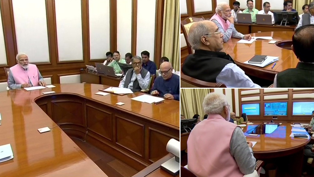 Narendra Modi Chairs 32nd PRAGATI Meeting, Discusses Nine Projects Worth Rs 24,000 Crores, Reviews Progress of Govt Insurance Schemes
