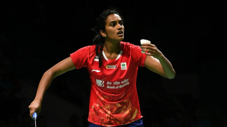 PV Sindhu Settles For Silver Medal in Indonesia Open 2019 Badminton Final, Indian Shuttler Loses to Akane Yamaguchi 21-15, 21-16