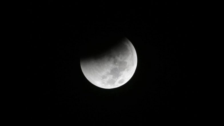 Here's what the partial lunar eclipse looked like over Kent