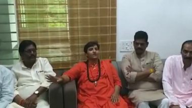 Pragya Singh Thakur Makes Another Bizarre Statement, Says 'We Have Not Become MPs to Clean Your Toilets and Drains' (Watch Video)
