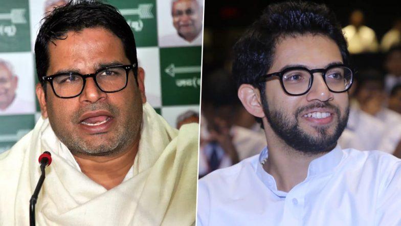 Prashant Kishor Helping Aaditya Thackeray to Expand Shiv Sena's Base Ahead of Maharashtra Assembly Elections: Report