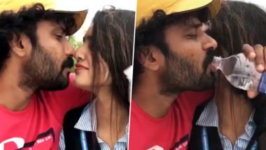 First Wink and Now Kiss: Priya Prakash Varrier Is Ruling the Internet All Over Again (Watch This Viral Video)