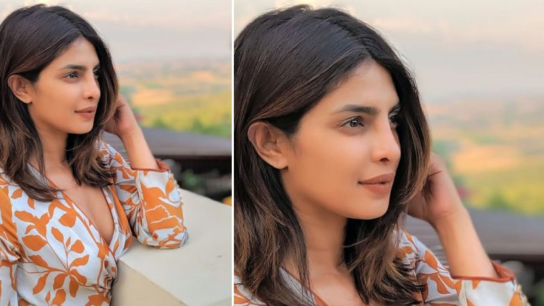 Priyanka Chopra Looks Radiant as She Poses For Her Husband Nick Jonas in Tuscany - View Pic
