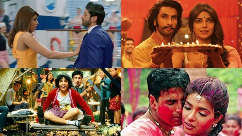 Happy Birthday Priyanka Chopra! Her Onscreen Chemistry With Shahid Kapoor, Ranveer Singh, Hrithik Roshan Makes Us Wish She Worked With Them Again!