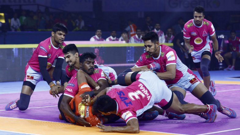 PKL 2019 Dream11 Prediction For Jaipur Pink Panthers vs Puneri Paltan Match: Tips on Best Picks For Raiders, Defenders and All-Rounders For JAI vs PUN Clash