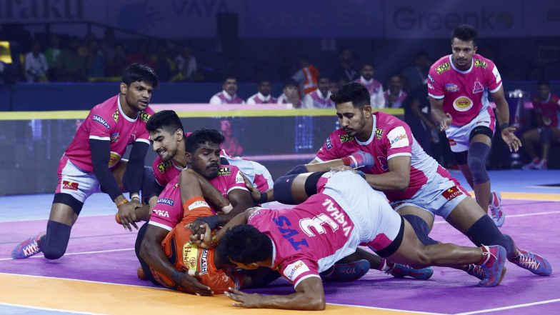 PKL 2019 Dream11 Prediction For Jaipur Pink Panthers vs Telugu Titans Match: Tips on Best Picks For Raiders, Defenders and All-Rounders For JAI vs TEL Clash