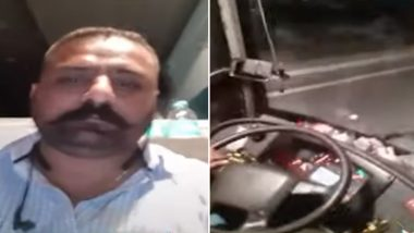 Punjab Roadways Driver Makes TikTok Video While Driving to Delhi, Suspended