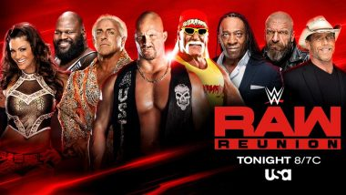 WWE Raw Reunion July 22, 2019 Live Streaming & Match Timings: Preview, TV & Free Online Telecast Details of Today's Fights