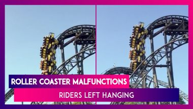 Roller Coaster Ride Malfunctions In UK, Theme-Park Goers Left Hanging For 20 Scary Minutes