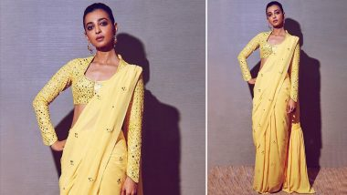Cop or Drop: Radhika Apte Picks a Yellow Tamanna Punjabi Kapoor Saree for ABP Majha Sanman Awards