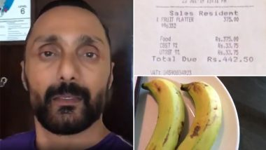 JW Marriott Hotel in Chandigarh Fined Rs 25,000 For Levying GST on Bananas Ordered by Actor Rahul Bose