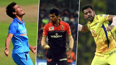 India vs West Indies T20 2019 Series: Deepak Chahar to Navdeep Saini, These Indian Bowlers Are to Watch Out for on Windies Tour