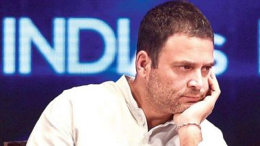 Sujith Wilson Trapped in Borewell: Rahul Gandhi Prays for Trapped Baby in Tamil Nadu