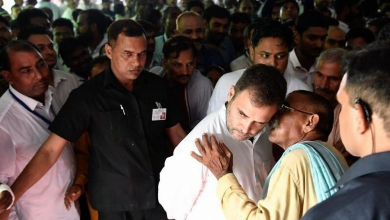 Rahul Gandhi Visits Amethi for the First Time After Losing Lok Sabha Elections 2019 In Constituency to Smriti Irani, Meets Party Workers