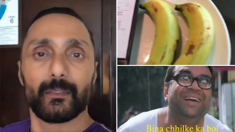 Rahul Bose Rants About JW Marriot, Chandigarh Charging Rs 442 for Two Bananas in Viral Video, Twitter is Aghast (Read Funny Tweets)