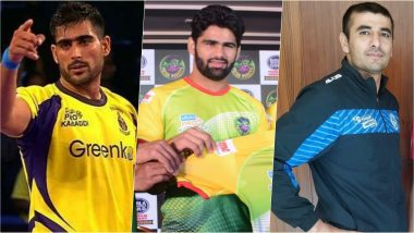 VIVO PKL 2019: Pardeep Narwal, Ajay Thakur & Other Raiders to Watch Out for in the Seventh Season of Pro Kabaddi League